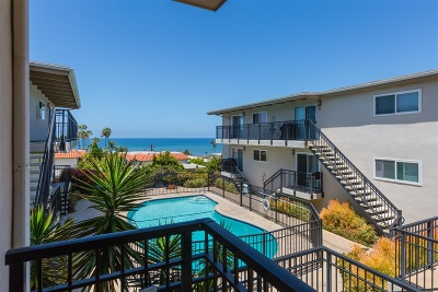 Del Mar Attached For Sale: 460 Camino Del Mar #6