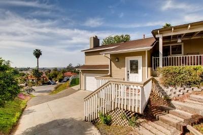 Vista Single Family Home For Sale: 1115 Vista Bonita Drive