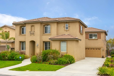 Oceanside Single Family Home For Sale: 1145 Parkview Dr