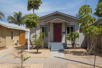 San Diego Single Family Home For Sale: 4517 38th St