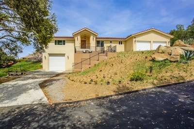 Escondido Single Family Home For Sale: 28043 Oak Ranch Rd