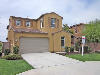 Oceanside Single Family Home For Sale: 1109 Breakaway