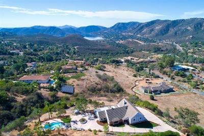 Escondido Single Family Home For Sale: 2522 Vista Lago Terrace