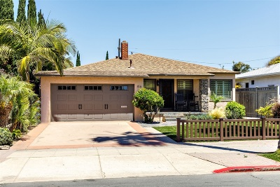 Pacific Beach, Mission Beach Single Family Home For Sale: 816 Pacific Beach Drive
