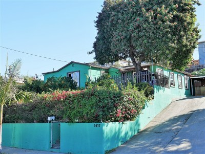 San Diego Single Family Home For Sale: 5477 San Onofre Terrace