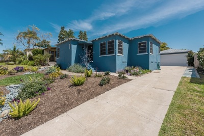 Talmadge, Talmadge/College Area Single Family Home For Sale: 4561 47th St.