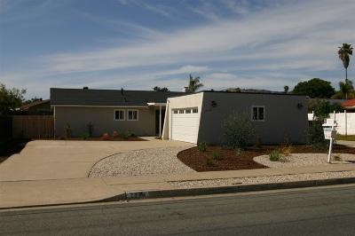 Escondido Single Family Home For Sale: 2044 E Washington Ave