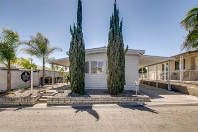 San Marcos Mobile/Manufactured For Sale: 150 S S Rancho Santa Fe Rd #SPC 174