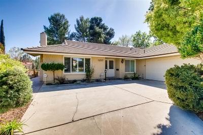 Single Family Home For Sale: 12019 Caminito Cadena