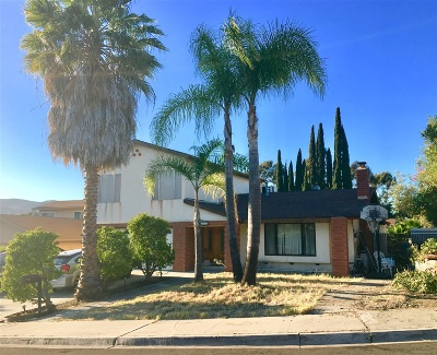 Single Family Home For Sale: 12427 Paseo Colina