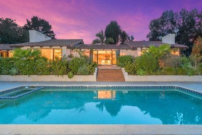 Rancho Santa Fe Single Family Home For Sale: 17174 El Vuelo