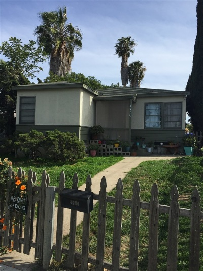 Normal Heights Multi Family 2-4 For Sale: 4750-52 E Mountain View