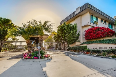 Solana Beach Attached For Sale: 144 S S Shore Dr