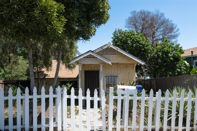 San Diego Single Family Home For Sale: 3537 37th Street
