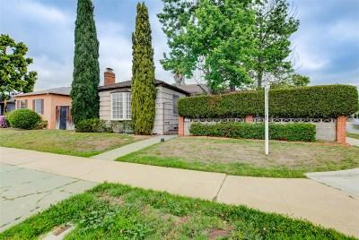 Talmadge, Talmadge/College Area Single Family Home For Sale: 4605 49th St