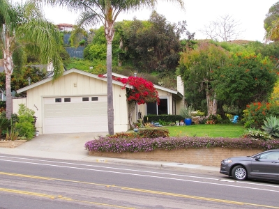 La Jolla, University City Single Family Home For Sale: 5439 La Jolla Mesa Dr