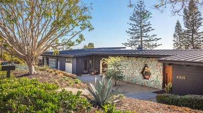 Carlsbad Single Family Home For Sale: 4205 Clearview Dr