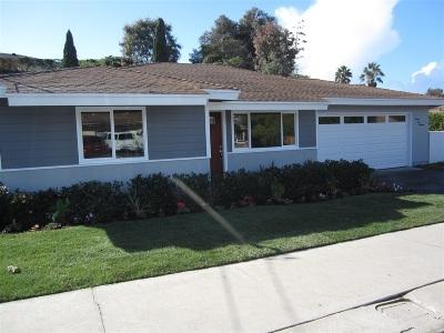 Oceanside Single Family Home For Sale: 2219 El Monte Dr