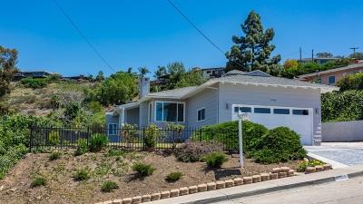 La Mesa Single Family Home For Sale: 7990 Cinnabar Dr