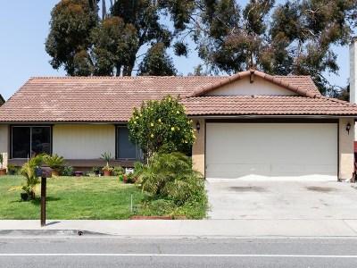Single Family Home For Sale: 3556 Roselle St