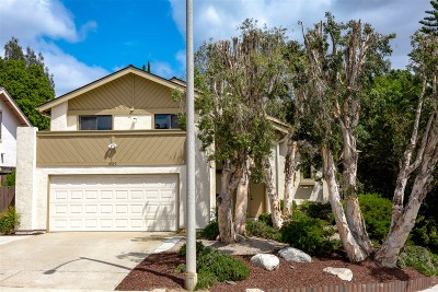 La Mesa Single Family Home For Sale: 3519 Paseo Salamoner
