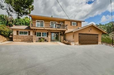 Vista Single Family Home For Sale: 1738 Elevado Rd
