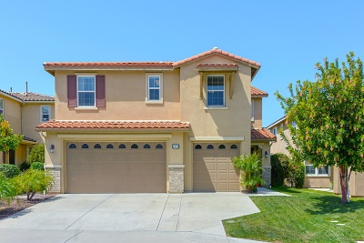 Oceanside Single Family Home For Sale: 1093 Augusta Circle