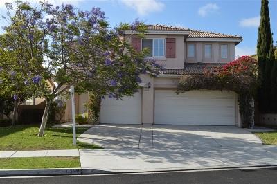 San Diego Single Family Home For Sale: 5032 Starfish Way
