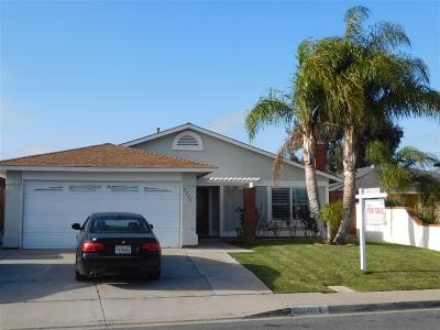 San Diego Single Family Home For Sale: 2246 Starburst Ln