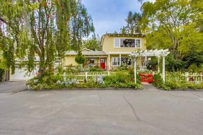 La Mesa Single Family Home For Sale: 4948 Vista Arroyo