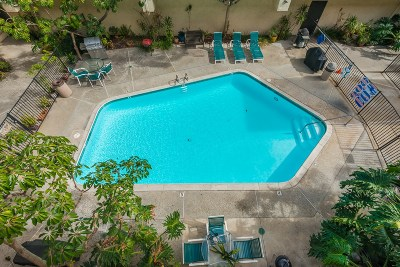 San Diego Attached For Sale: 3535 Monroe Ave #8