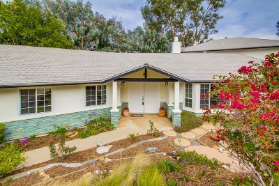 Escondido Single Family Home For Sale: 2031 Verde Via