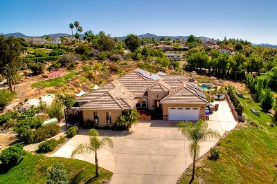 Escondido Single Family Home For Sale: 2883 Rue Montreux