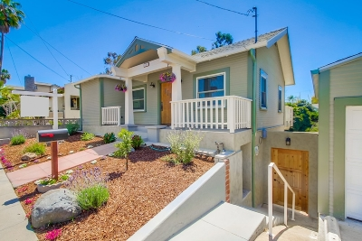 San Diego Multi Family 2-4 For Sale: 1409 Brookes Ave