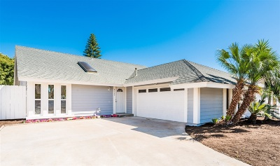 Carlsbad Single Family Home For Sale: 7110 Mimosa Dr