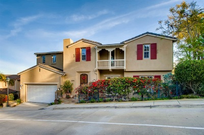 La Jolla, University City Single Family Home For Sale: 2575 Ridgegate Row