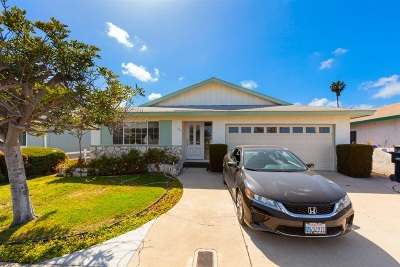 San Diego Single Family Home For Sale: Norstad Street