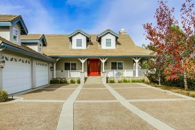 San Diego County Single Family Home For Sale: 15392 Lazy Creek Rd