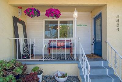 La Mesa Single Family Home For Sale: 4484 Acacia