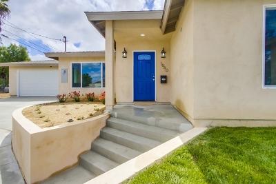 Single Family Home For Sale: 1640 Orange St