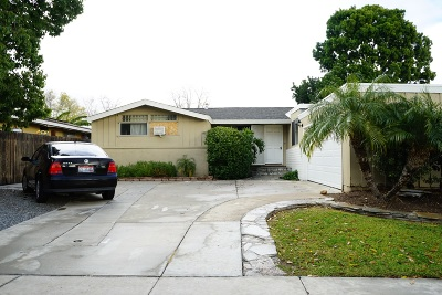 San Diego Single Family Home For Sale: 5325 Redding Road