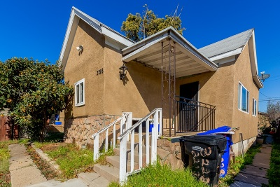 San Diego Single Family Home For Sale: 3228 National Ave