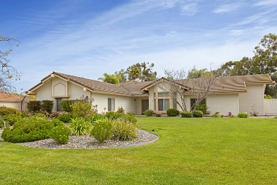 Poway Single Family Home For Sale: 15815 Riparian Rd.