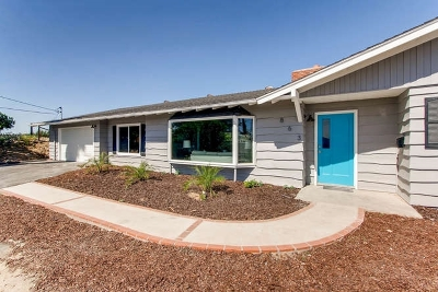San Diego County Single Family Home For Sale: 863 Audrey Way