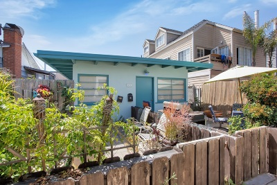 Pacific Beach, Mission Beach Multi Family 2-4 For Sale: 821 Isthmus