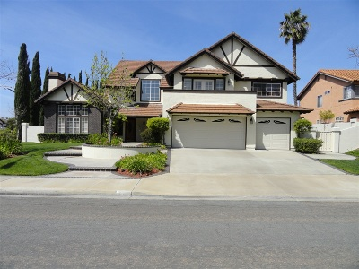 Chula Vista Single Family Home For Sale: 548 Zinfandel Ter