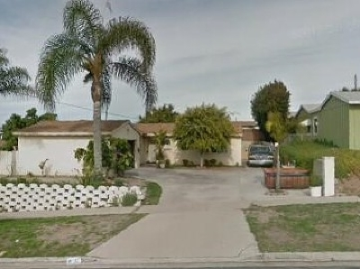 Chula Vista Single Family Home Contingent: 15 E Palomar St