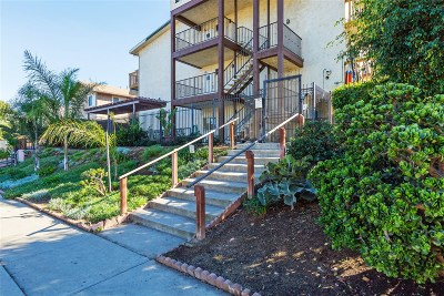 San Diego Attached For Sale: 3029 Broadway #5