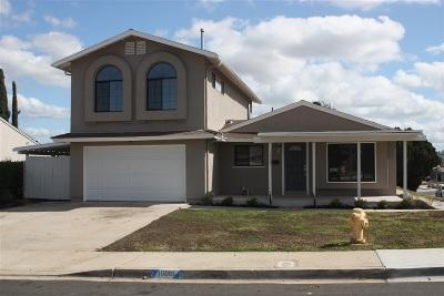Single Family Home For Sale: 10001 Burrock Drive