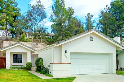 Escondido Single Family Home For Sale: 1224 Lancer Glen